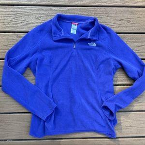 The North Face 3/4 zip fleece pullover
